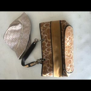 Coach bag and Hat